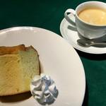 ととや - 米粉のシフォンケーキ & コーヒー