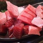 かわなみ鮨 - 鮪刺身