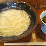 中村うどん - 湯だめうどん大2玉 330円