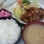 北京食堂 - 焼肉定食(税込700円、2013年3月)