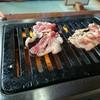 貴陽苑 - 料理写真:焼き焼き中!