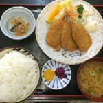 すぎ原 - アジフライ定食