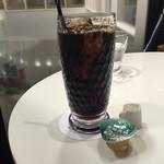 ロカンダ - セットのアイスコーヒー