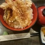 51879771 - 特上天丼特盛り(税込み850円)
