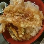 51879775 - 特上天丼特盛り(税込み850円)