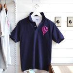 ザ バルーンマーケット - スタッフの愛用品。オリジナルロゴの入ったヘビーウェイトなポロシャツ。