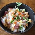 ぎふ初寿司 - 料理写真:お寿司屋さんのまかない丼