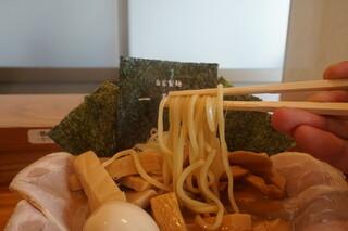 一陽軒 - 麺リフトアップ