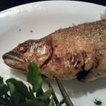 サウダージ - 稚鮎のコンフィ