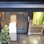 茅場町 長寿庵 - (2016年5月)店は地下1階(入口)