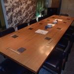 並木橋なかむら - 12名様掛けの大テーブル