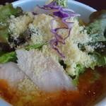 鶏白湯ラーメン 夏樹 - トマトチーズラーメン