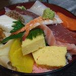 水神 - ちらし寿司梅