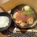 とり田 - 明らかに「ご飯」が少ない・・・