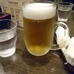 味な店 いわた - ビール