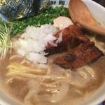 ナンバーナイン 09 - 料理写真:濃厚らーめん大盛味玉トッピング(1,000円)