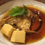 虎寿司 - 鯛のかぶと煮