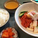 51896599 - ピビン麺 [大] + 白ごはん