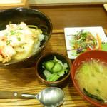 ふじ田 - タラバガニ丼
