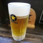 富士山 - 生ビール480円