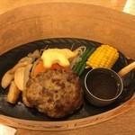 51899265 - (料理)ハンバーグステーキ(ポン酢)