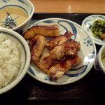 ねぎし - 鳥ダブル定食