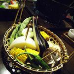 南屋和牛堂 - 季節の焼き野菜盛り合わせ