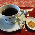 小机邸喫茶室 安居 - コーヒーにはクッキー付き
