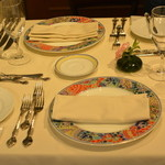 シェヌー - テーブルセッティング
