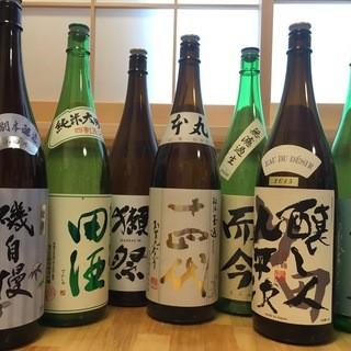 入手困難!稀少銘柄の日本酒ご用意有り!