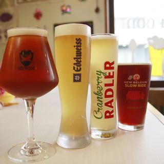 【世界のビール(クラフトビール)】生&ボトル70種類以上