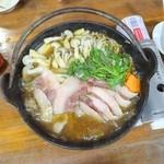お食事処 もとだき - 猪鍋(3) ※もうちょっと