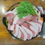 お食事処 もとだき - 猪鍋(1)