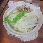 お食事処 もとだき - 湯豆腐(1)