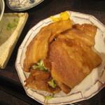 海幸 - 海幸 豚バラあぶり焼き
