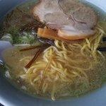 民宿宗谷岬 - 塩ラーメンアップ