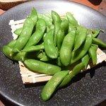 徳樹庵 - 枝豆