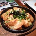 徳樹庵 - ポテト明太チーズ焼き