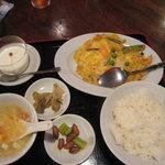 龍王門 - かにたま定食