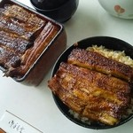 うなぎ川魚料理 伊勢屋 - 上うな重:うな丼