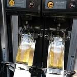 うめだ阪急ビアガーデンマルシェ - ビール