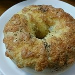 51910690 - ベーグル チーズ&ペッパー。