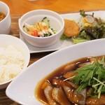 胡食 - 酢豚ランチ1100円
