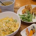 胡食 - お子様チャーハンランチ550円