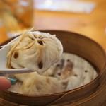 胡食 - 小籠包は黒酢と生姜♡