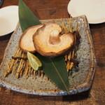 やきとり i-shi - ジャンボしいたけ焼き