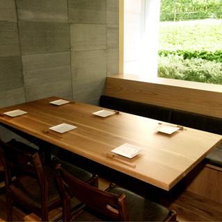記念日・接待に!完全個室のお席をご用意しております。