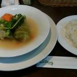 シトラス - Aランチの中の「春野菜たっぷりロールキャベツ」h28.6.6撮影