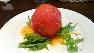 シトラス - 「名物トマトのファルシーサラダ」h28.6.6撮影