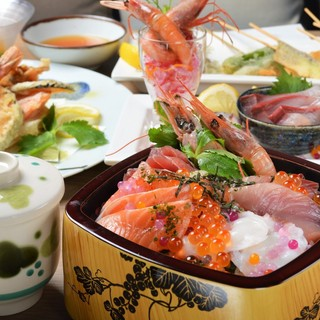 [三河の魚は活きが良い!]鮮度抜群の魚介料理!